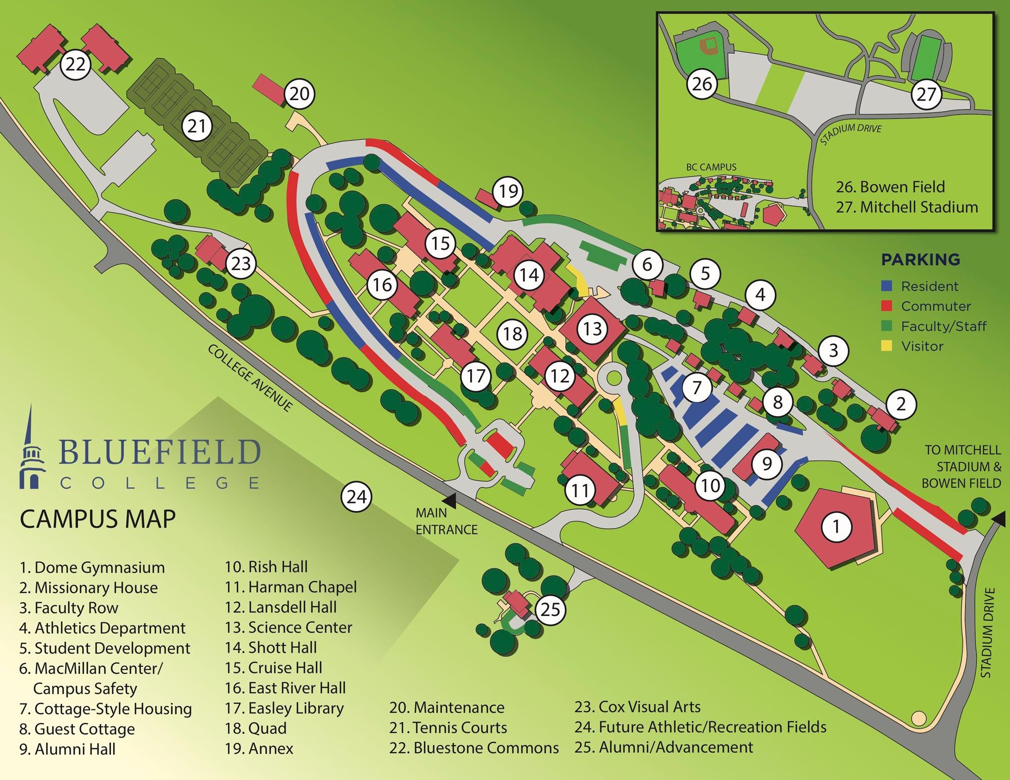 Unc Greensboro Campus Map.Campus Directions
